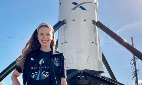 Bone Cancer Survivor Joins Billionaire On SpaceX Flight