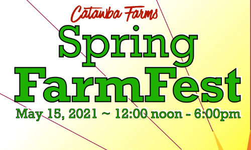 Catawba Farms Inaugural Spring Farmfest And Artisan Market Set For May 15