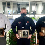 Hickory Elks Present Awards To Three Hickory Public Servants
