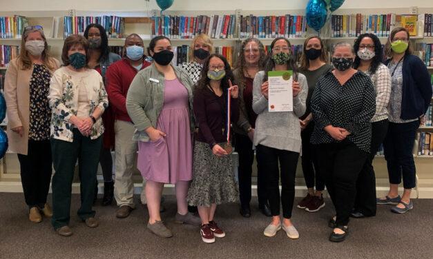 Catawba County Library Staff Honored As Newton's  NC Main Street Champions