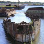 Remains Of Cold War-Era  Russian Submarine Catch Fire