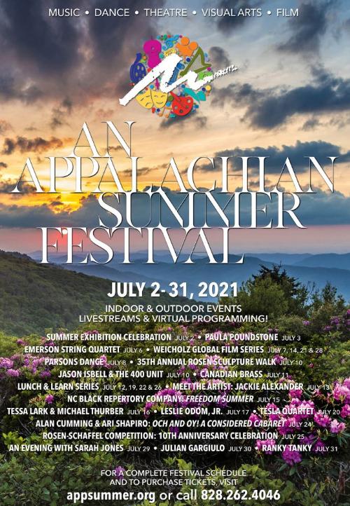 Tickets For An Appalachian Summer Fest