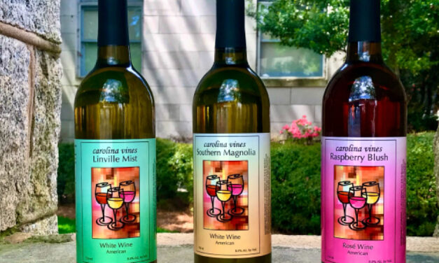Carolina Vines Invites Public For The Release Of First Locally Produced Wines, Friday, April 23