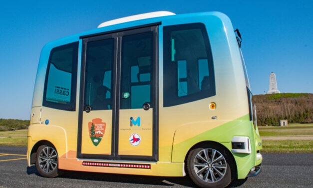 NCDOT & National Park Service Officials Mark A Milestone In Launch Of Self-Driving Shuttle