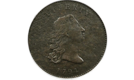 Prototype Of The First US Dollar Coins Auctioned For $840,000