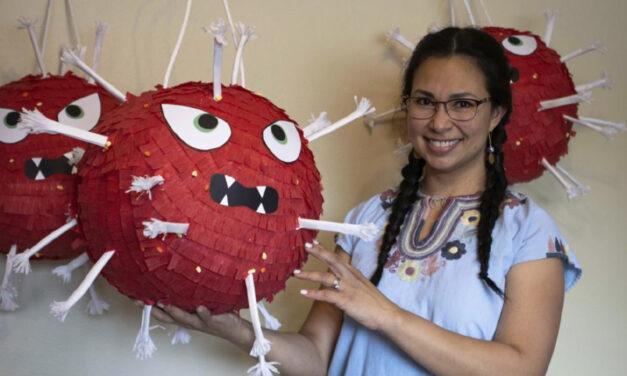 Alaska Pinata Maker Now Makes Coronavirus-Shaped Models