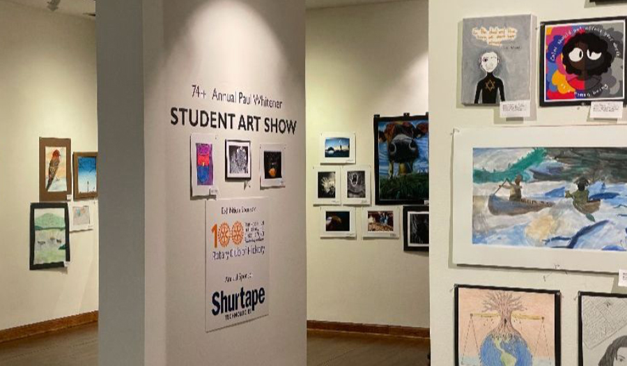 Vote Online For Paul Whitener Student Art Show By Tues., 4/27