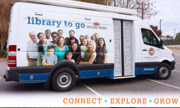 Look For The 'Library To Go' At CVFA, This Saturday, April 24