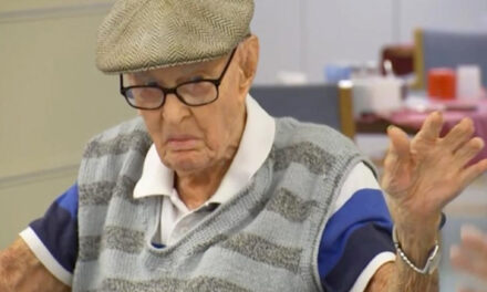 111-Year-Old Recommends  Eating Chicken Brains