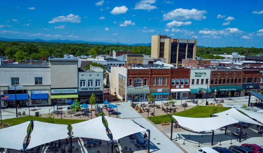 City Of Hickory Celebrates New Public Wi-Fi Downtown