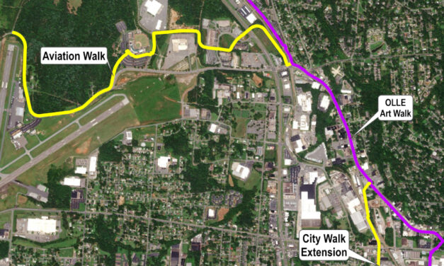 Construction Contract Awarded For Hickory's Aviation Walk