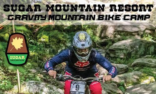 Sugar Mountain Hosts Gravity Mountain Bike Camp, July 9 – 11