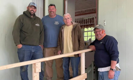 Members Of The Newton Elks Constructed A Ramp To Assist  21 Year Army Veteran