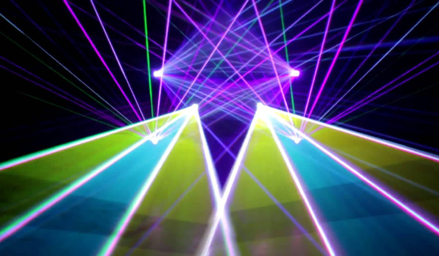 Laser Shows Are Back At CSC's Millholland Planetarium