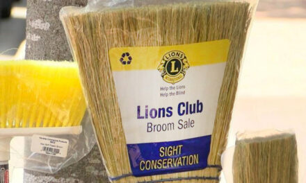 Long View Lions Broom Sale And Bucket Brigade, June 19