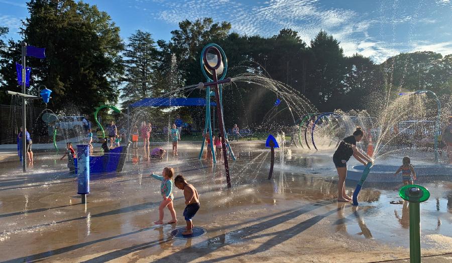 City Of Newton's Splash Zone Is Open For Summer Season
