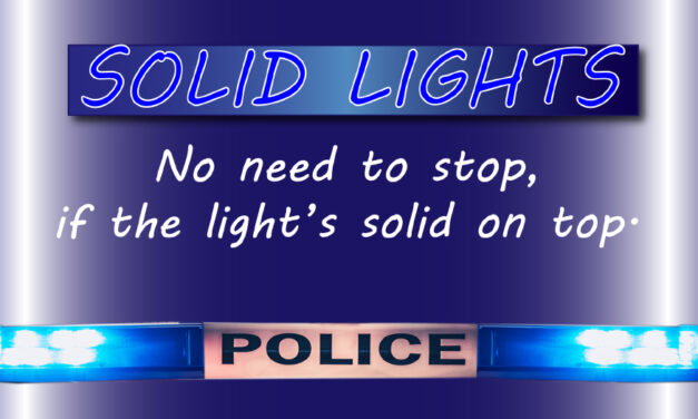 Hickory Police To Utilize Cruiser Lights On Patrol Vehicles