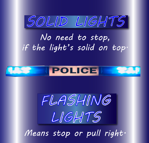 Hickory Police To Utilize Cruiser Lights