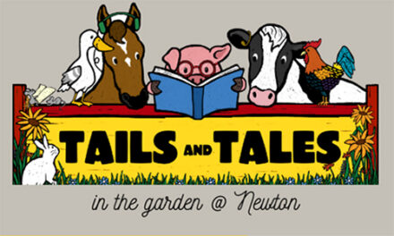 Bring The Family Out For Tails & Tales In The Garden At Newton's Main Library, Beginning 6/3