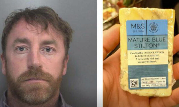 Big Cheese No More: UK Drug  Dealer Caught By Cheese Pic