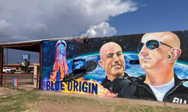 Blue Origin Brings Space Tourism To Tiny Texas Town