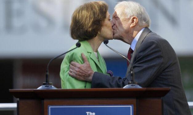 Jimmy & Rosalynn Carter Mark  75 Years Of 'Full Partnership'