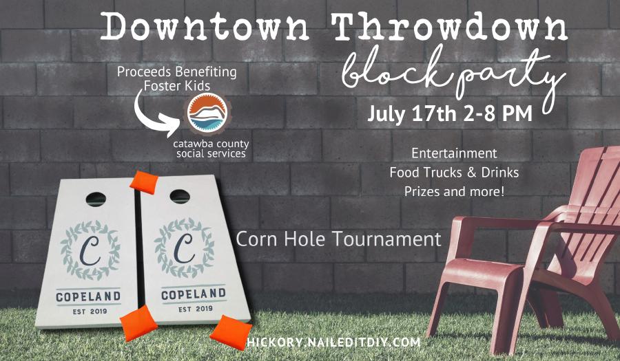 Downtown Throwdown Block Party, This Saturday, 7/17, 2-8PM