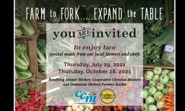 5th Annual Farm To Fork, Expand the Table Fundraiser's Summer Meal Is Thursday, July 29