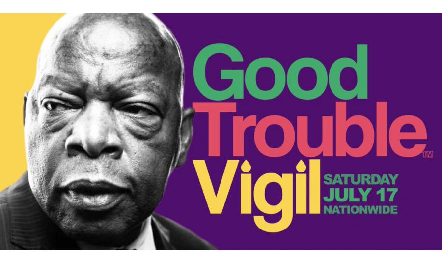 Candlelight Vigil Honoring Rep. John Lewis, Sat., July 17, 8-9PM