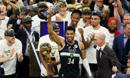 Giannis And The Bucks Finish The Deal