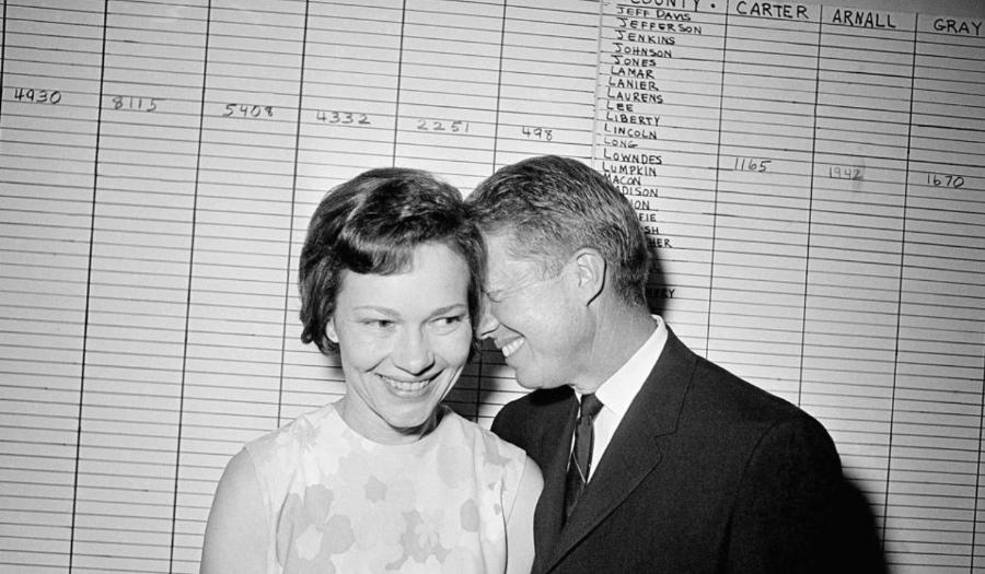 Jimmy & Rosalynn Carter