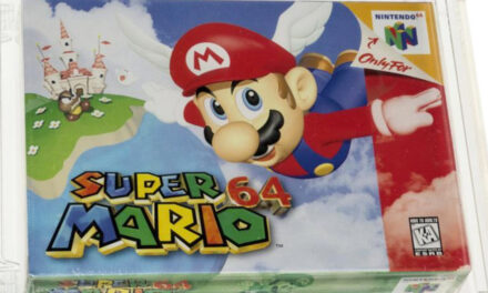 Unopened 1996 Super Mario 64 Game Sells For $1.56M