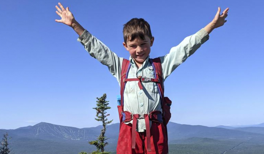 Imagination & Skittles Help Boy, 5, Conquer Appalachian Trail