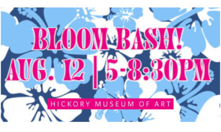 Hickory Museum Of Art's  Bloom Bash Event Is August 12