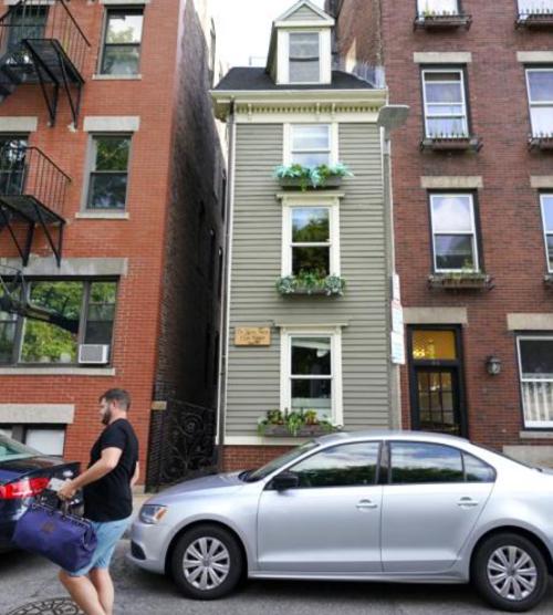 Boston's Famed Skinny House