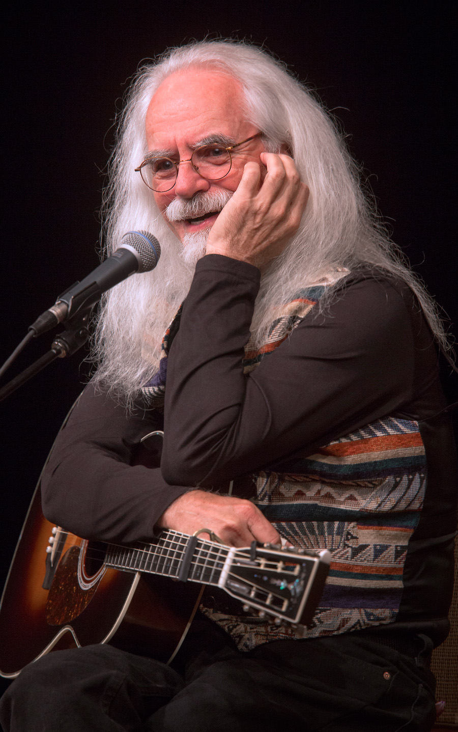 Storyteller And Songwriter Michael Reno Harrell