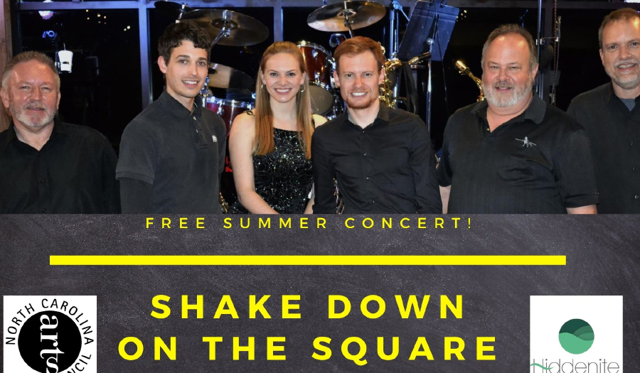 Summer on The Square Concert Hosts Shakedown, Friday, 8/13