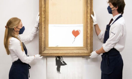 Half-Shredded Banksy Could Fetch Over $5 Million At Auction