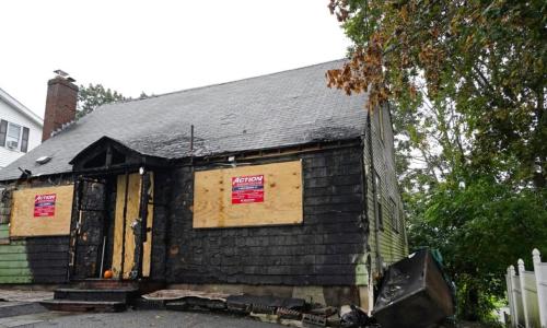 Housing Market So Hot, Burned House