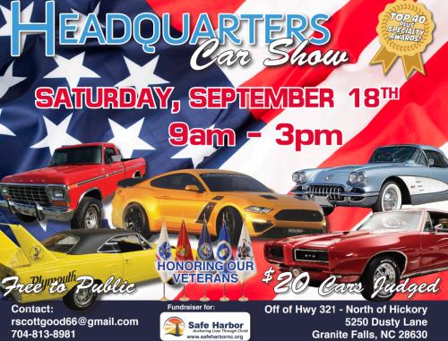 Headquarters Car Show