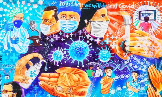 LRU Announces Fight COVID! Youth Art Contest Winners