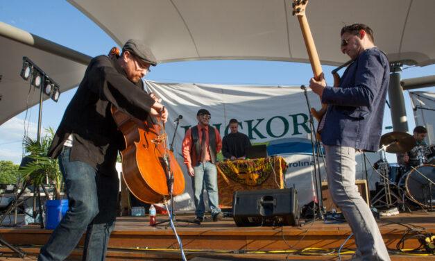 Sails Original Music Series Hosts Dave Eggar Circus, Sept. 10