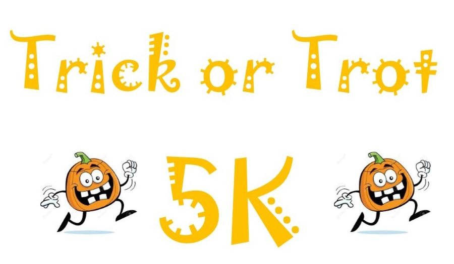 Register For Trick Or Trot 5K, 10/30