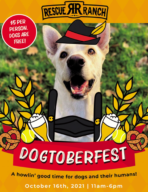 The Rescue Ranch To Host Dogtoberfest