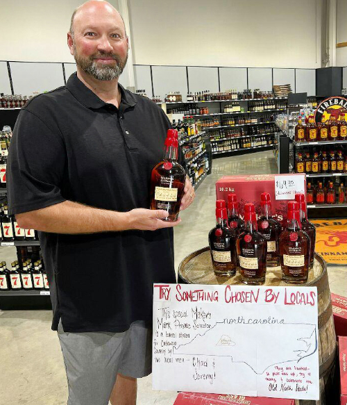 Two Local Guys Work With Maker's Mark