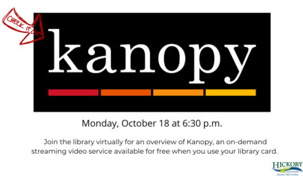 Kanopy, An On-Demand Service Now At Library, Oct. 18