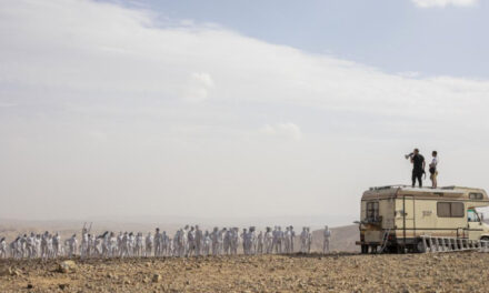 Artist Recruits 300 For Nude Photo Near Dead Sea In Israel